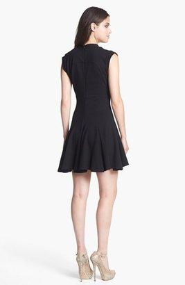 French Connection 'Marie' Ponte Knit Fit & Flare Dress