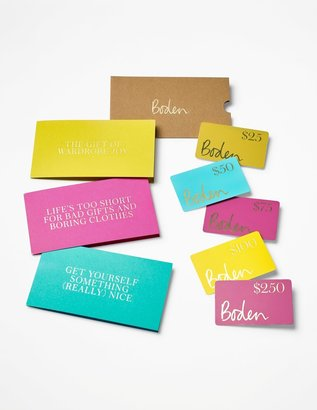 Boden Us Gift Card