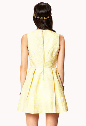Forever 21 Dotted A-line Dress