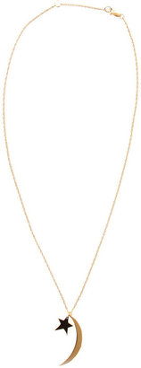 Jennifer Zeuner Jewelry Sky Star & Moon Necklace