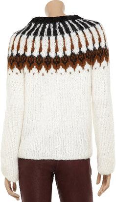 A.L.C. Lottie alpaca-blend sweater
