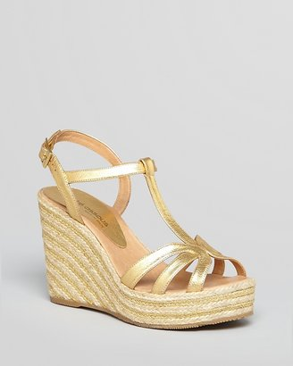 Andre Assous Espadrille Sandals - Jenel Striped