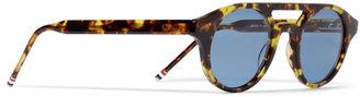 Thom Browne Round-Frame Acetate Sunglasses