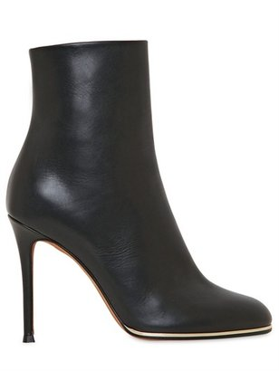 Givenchy 100mm Calf Low Boots