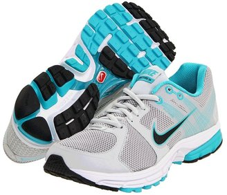 Nike Zoom Structure+ 15 (Pure Platinum/Burnt Turquoise/Black) - Footwear
