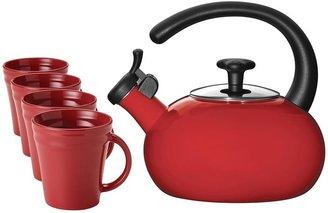 Rachael Ray teakettle & mugs value set