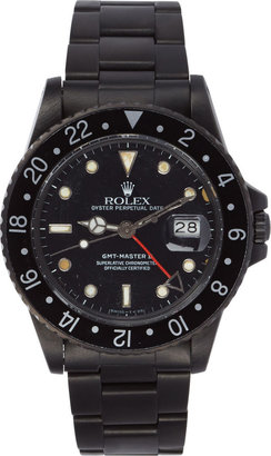 Black Limited Edition Matte Black Limited Edition Rolex GMT Master II Watch $20,000 thestylecure.com