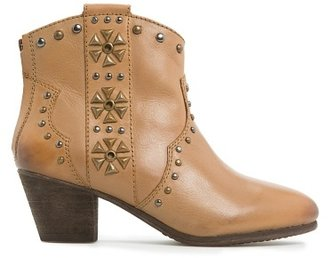 MANGO TOUCH - Studded cowboy ankle boot