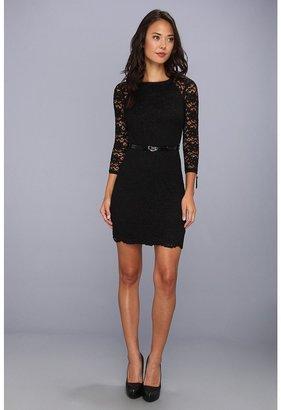 Juicy Couture Paige Dress (Pitch Black) - Apparel