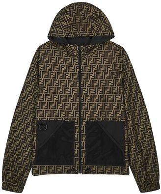 Fendi Black Reversible Shell Jacket