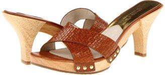 MICHAEL Michael Kors Amelie Mule (Luggage) - Footwear