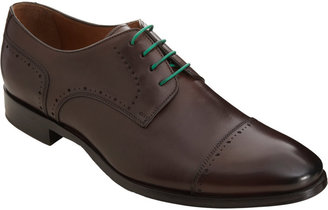 Barneys New York CO-OP Perforated Cap Toe Blucher