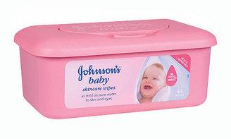 Johnson & Johnson Tub of Wipes - 64 Count