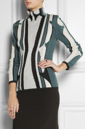Peter Pilotto Knitted silk sweater