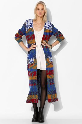 Urban Outfitters Urban Renewal Pieced Duster Cardigan