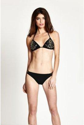 GUESS Corps Values Tab Bikini Bottoms