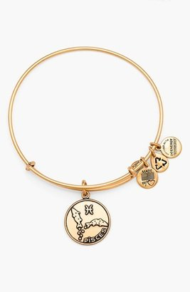 Alex and Ani 'Pisces' Adjustable Wire Bangle