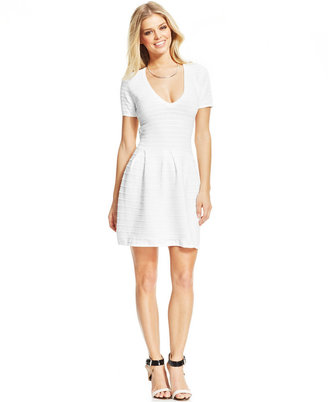 French Connection Lace A-Line Dress