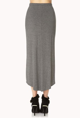 Forever 21 Posh Layered Knit Skirt