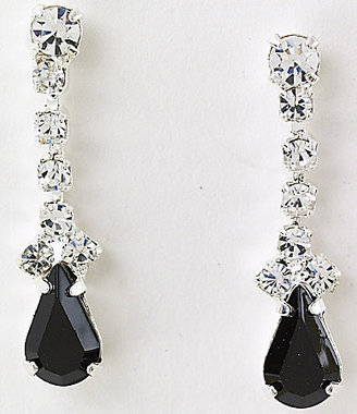 Dillard's Crystal Collection Mini-Pear Drop Earrings