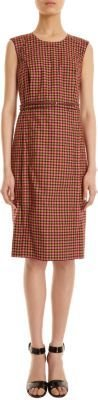 Marc Jacobs Sleeveless Plaid Dress