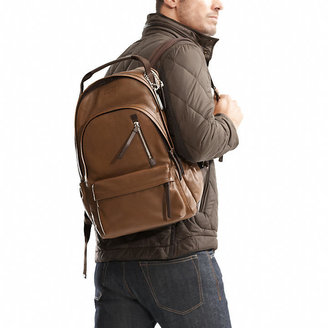 Coach Thompson Backpack In Leather
