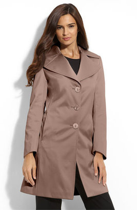 Tahari 'Lola' Notched Collar Walking Coat