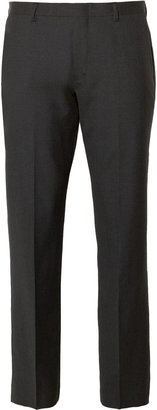 J.Crew Grey Ludlow Wool Suit Trousers
