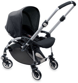 Bugaboo Bee Stroller Base and Accessories - Black