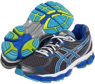 Asics GEL-Cumulus 14 (Storm/Brilliant Blue/Aqua) - Footwear