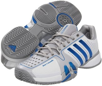 adidas adipower barricade 7.0 (Running White/Bright Blue/Metallic Silver) - Footwear