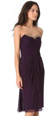 Notte by Marchesa Cascade Strapless Dress