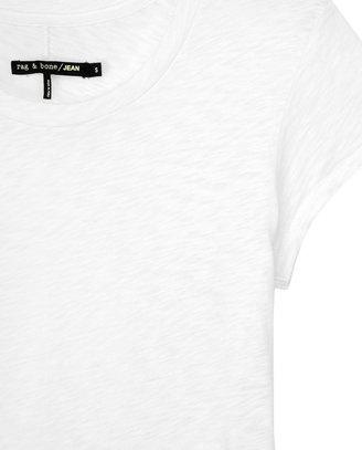 Rag and Bone Basic Brando Tee - White