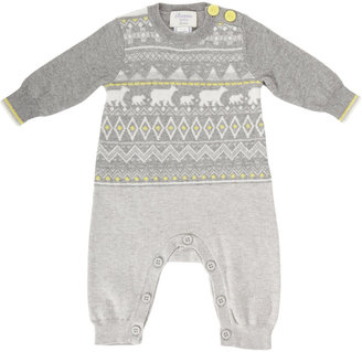 Bonnie Baby Nordic Knit Coverall