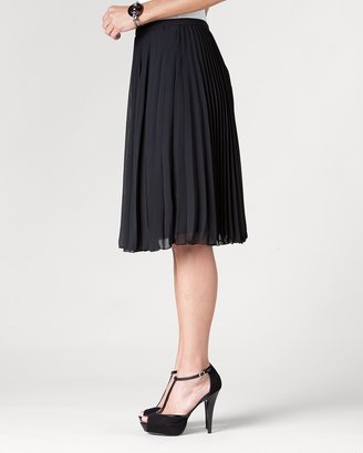 Coldwater Creek Pleated knee skirt