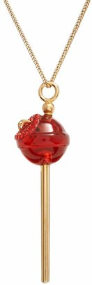 Amore By Simone I. Smith AMORE by SIMONE I. SMITH A Sweet Touch of Hope 18k Gold Over Silver Crystal Lollipop Pendant