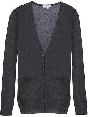 Chaiken Charcoal Long Fitted Cardigan