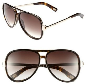 Marc Jacobs 59mm Aviator Sunglasses