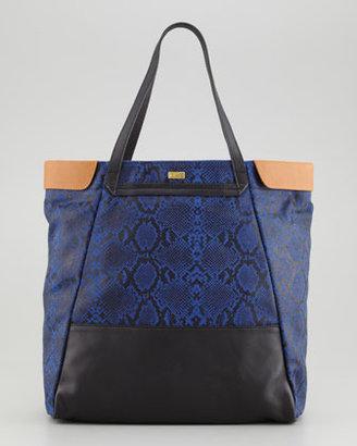 Be & D Nixie Tote Bag, Cobalt
