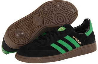 adidas Spezial (Black/Real Green/Metallic Gold) - Footwear
