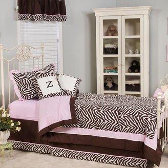 Pam Grace Creations zara zebra 3-pc. quilt set - twin