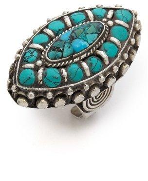 Vanessa Mooney Blue Velvet Ring