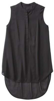 Mossimo Women's Sleeveless Tuxedo Tunic - Assorted Colors