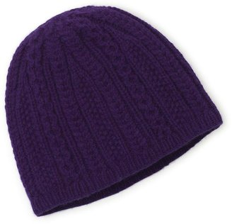 Brooks Brothers Cashmere and Wool Knit Hat