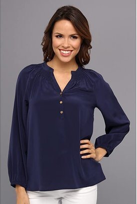 Lilly Pulitzer Elsa Top (True Navy) Women's Blouse