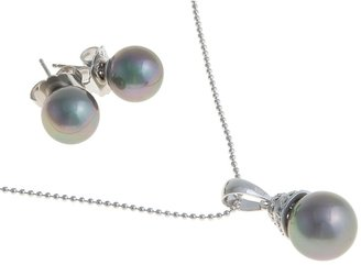 Joia de Majorca Necklace and Earring Set - Organic Pearl