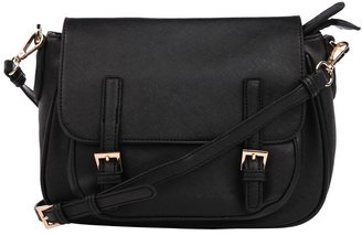 Urban Expressions Cross Body Bag with Buckles