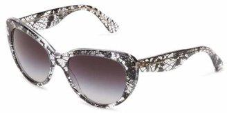Dolce & Gabbana 0DG4189 27298G54 Cat-Eye Sunglasses