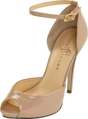 Ivanka Trump Women's Bulbli Two Piece Closed Back Platform Peep Toe