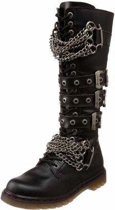 Pleaser USA Men's Disorder-402 Boot Black Polyurethane 4 M US